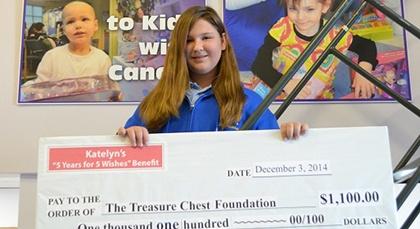The Pediatric Oncology Treasure Chest Foundation - Providing